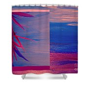 Tropical Sunrise By Jrr Shower Curtain by First Star Art