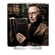 True Evil - Science Fiction - Horror Shower Curtain by Gary Heller
