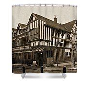 Tudor House Southampton Shower Curtain by Terri  Waters