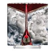 Tupolev Tu-154  Shower Curtain by Stelios Kleanthous