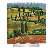 Tuscan Dream 1 Shower Curtain by Debbie DeWitt