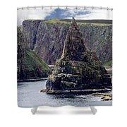 Twin Peaks Shower Curtain by Roger Wedegis