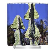Twin Towers Shower Curtain by Kelley King
