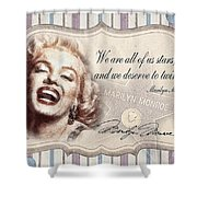 Twinkle Little Star Shower Curtain by Mo T