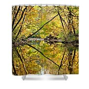 Twins Shower Curtain by Frozen in Time Fine Art Photography