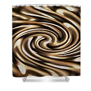Twisted Chains Shower Curtain by Crystal Harman