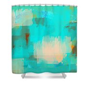 Two sided world Shower Curtain by Len YewHeng