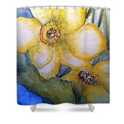Twosome Shower Curtain by Sherry Harradence