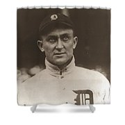 Ty Cobb 1915 Shower Curtain by Unknown