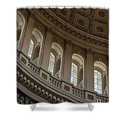 U S Capitol Dome Shower Curtain by Steve Gadomski