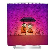 Under the Rain Shower Curtain by Gianfranco Weiss