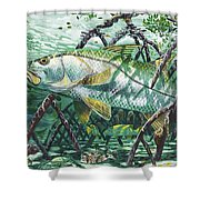 Undercover In0022 Shower Curtain by Carey Chen