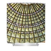 Union Station Skylight Shower Curtain by Karyn Robinson