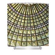 Union Station Skylight Shower Curtain by Karyn Robinson