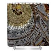 Unites States Capitol Rotunda Shower Curtain by Susan Candelario
