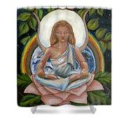 Universal Goddess Shower Curtain by Samantha Geernaert