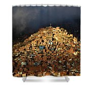 Urban Cross 2 Shower Curtain by James Brunker
