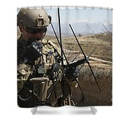 U.s. Air Force Joint Terminal Attack Shower Curtain by Stocktrek Images