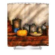 Utensils - Kitchen Still Life Shower Curtain by Mike Savad