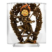 Vajrayogini Shower Curtain by Fabrizio Troiani