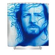 'vedder' Shower Curtain by Christian Chapman Art
