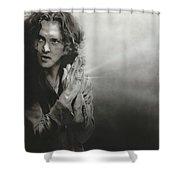 'vedder Iv' Shower Curtain by Christian Chapman Art