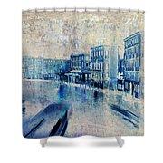 Venice Canal Grande Shower Curtain by Frank Tschakert