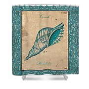 Verde Mare 2 Shower Curtain by Debbie DeWitt
