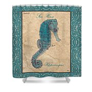 Verde Mare 3 Shower Curtain by Debbie DeWitt