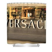 Versace Shower Curtain by Dan Sproul