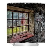 Victorian Decay Shower Curtain by Adrian Evans
