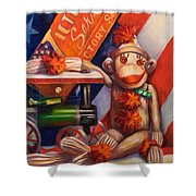 Victory Shower Curtain by Shannon Grissom