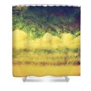 Vintage Image Of Hot Summer Beach Shower Curtain by Michal Bednarek