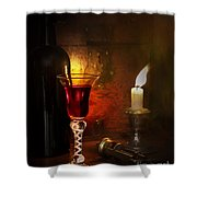 Vintage Port Shower Curtain by Amanda And Christopher Elwell