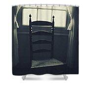 Vintage Rock Shower Curtain by Margie Hurwich