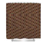 Vintage Wayback Pop Art Shower Curtain by Pepita Selles