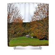 Virginia Fall Shower Curtain by Todd Hostetter