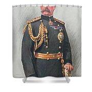 Viscount Kitchener Of Khartoum Shower Curtain by Walter Wallor Caffyn