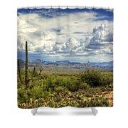 Visions Of Arizona  Shower Curtain by Saija  Lehtonen