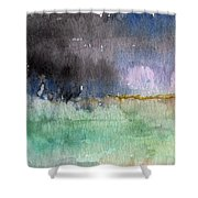 Voices Carry Shower Curtain by Linda Woods