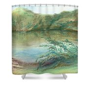 Waccamaw Dreams Shower Curtain by MM Anderson