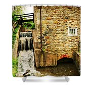 Wagner Grist Mill Shower Curtain by Paul Ward