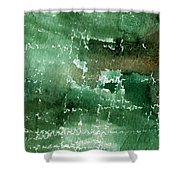 Walk In The Park Shower Curtain by Linda Woods