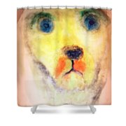 Walk With Me Shower Curtain by Hilde Widerberg