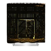 Walking Dead Shower Curtain by Andrew Paranavitana