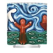 Walking On Water 2 Shower Curtain by Patrick J Murphy
