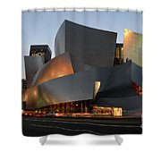 Walt Disney Concert Hall 21 Shower Curtain by Bob Christopher