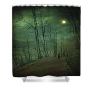 Wanderer Shower Curtain by Taylan Soyturk
