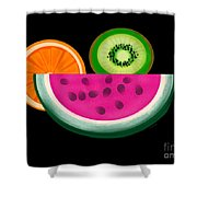 Want A Slice? Shower Curtain by Christine Fournier