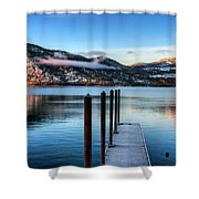 Wapato Point Shower Curtain by Spencer McDonald